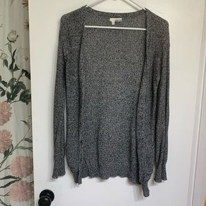 Abound Sweaters - Abound XS blue and white heather cardigan